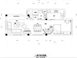 [深圳]欧式住宅室内空间设计施工图(含效果图)