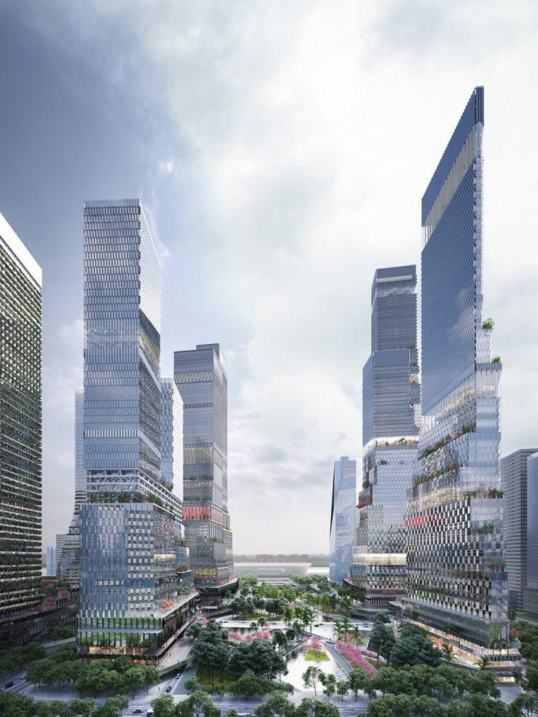 深圳北站商务区城市设计
