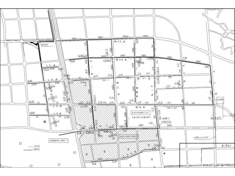 天子湖大道污水一体化提升泵站设计图纸(含污水量分析和设计说明书)
