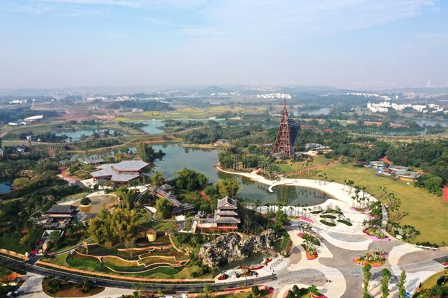 """中国院作品""""心象自然南宁园博园景观规划"""