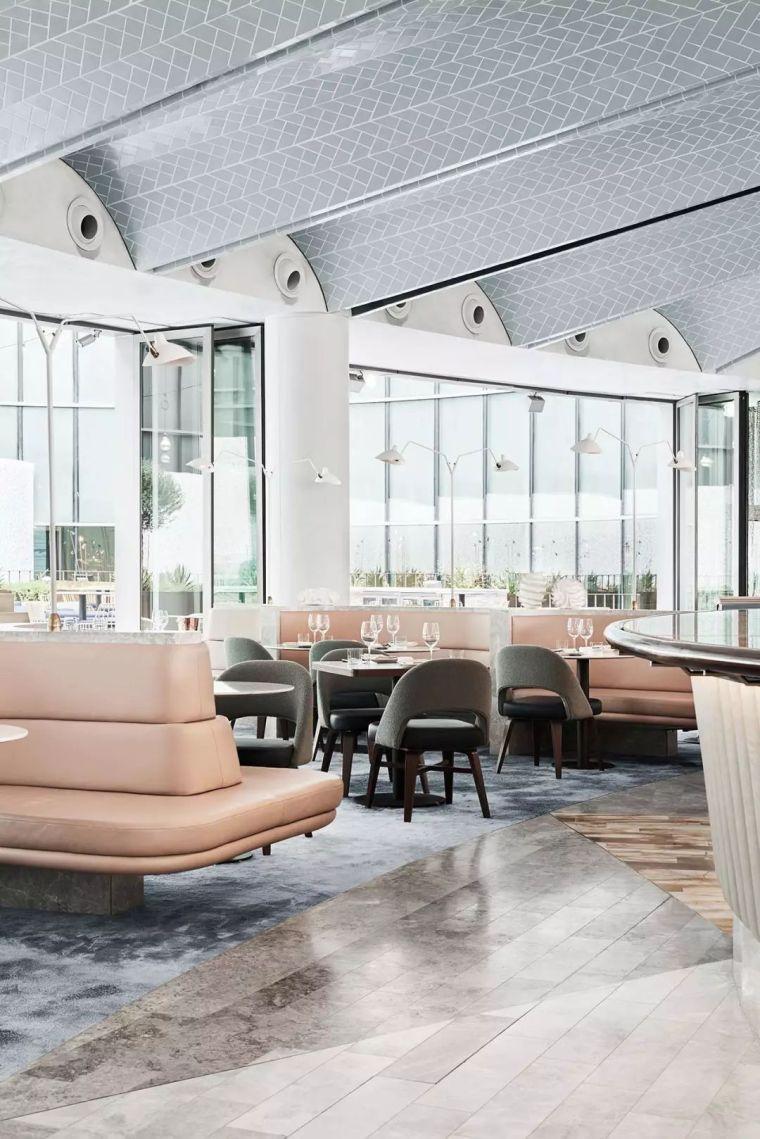 迪拜地标旁的2000平米超大餐厅,精致细节成就奢华设计_7