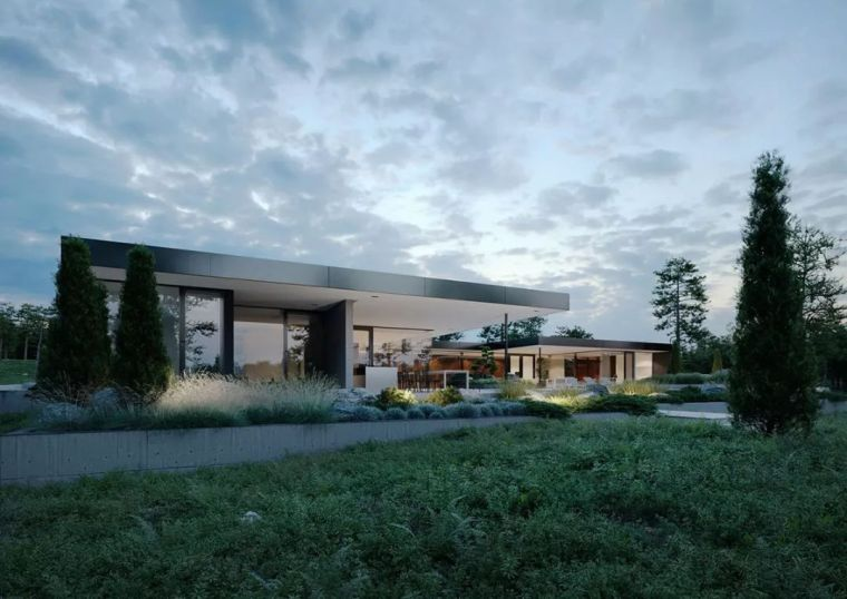 国外的超级别墅这样打造,美得令人沉思!_3