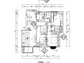 [江西]混搭风格三居室住宅设计施工图(附效果图+软装配置)