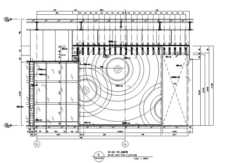 超现代法式餐厅及雪茄吧设计施工图(附效果图)_4
