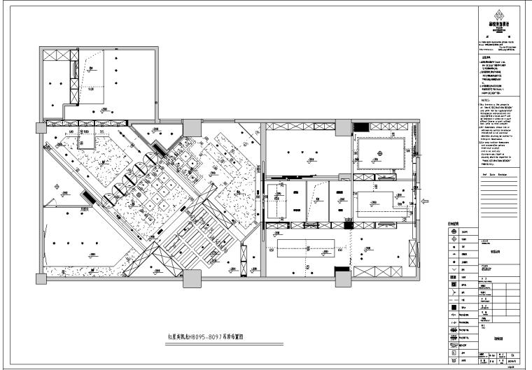 译景复合空间混搭风格施工图及效果图(含42张图纸)