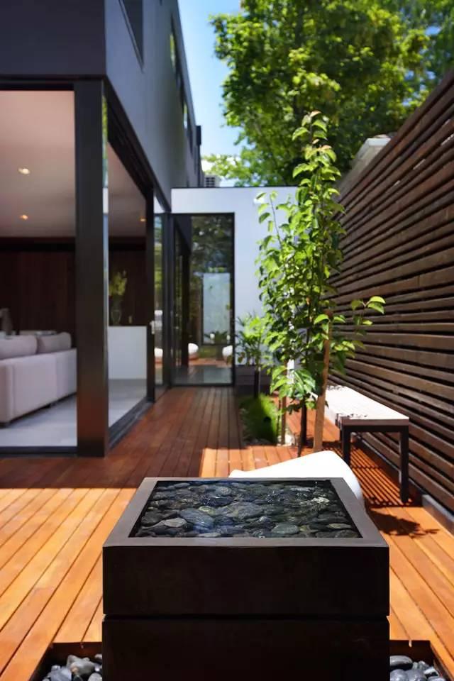 赶紧收藏!21个最美现代风格庭院设计案例_151