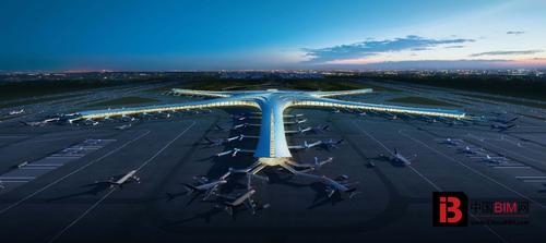 [BIM案例]青岛新机场建设项目T1航站楼BIM应用