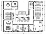 【山东】城市花园七层办公空间设计施工图(附效果图)