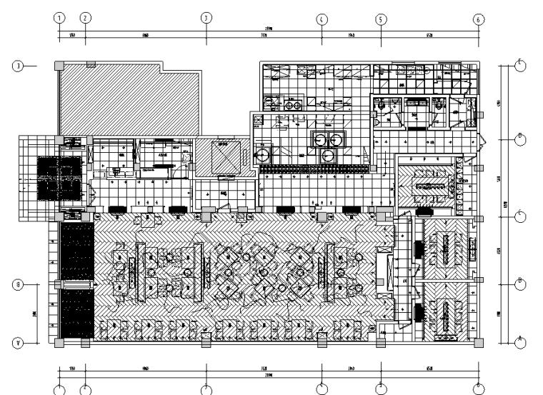 15套精选餐饮空间设计施工图合集(下)(部分附详细物料表)