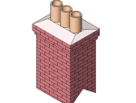 bim软件应用-族文件-烟囱