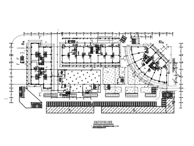 商场楼板加固改造施工图