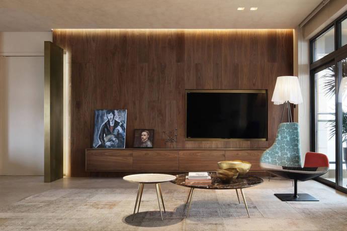 成都160平温馨气质的现代简约风家居装修效果图