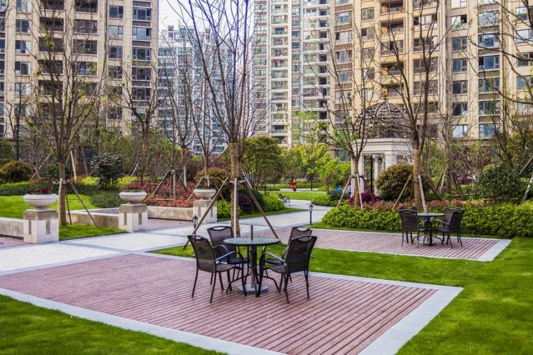 上海中海万锦城三期ArtDeco风格居住区景观设计_4