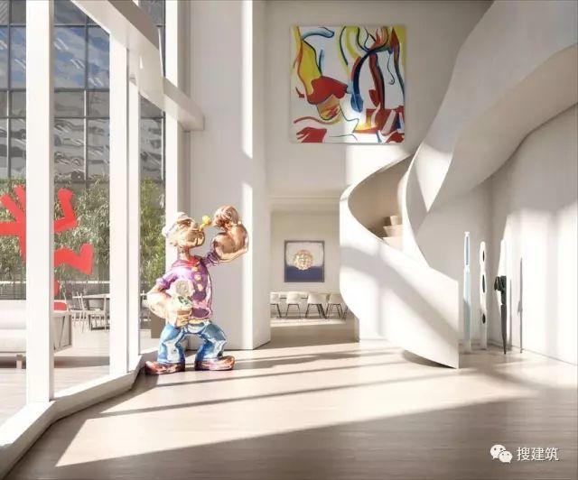 """万科在纽约开发的""""新地标住宅"""",高200米,1000-1600平方英尺的_33"""