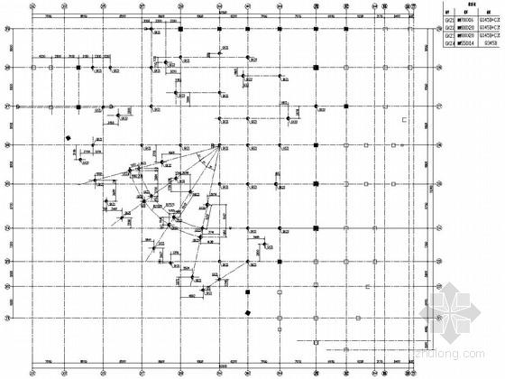 地上六层大型商场钢结构部分施工图
