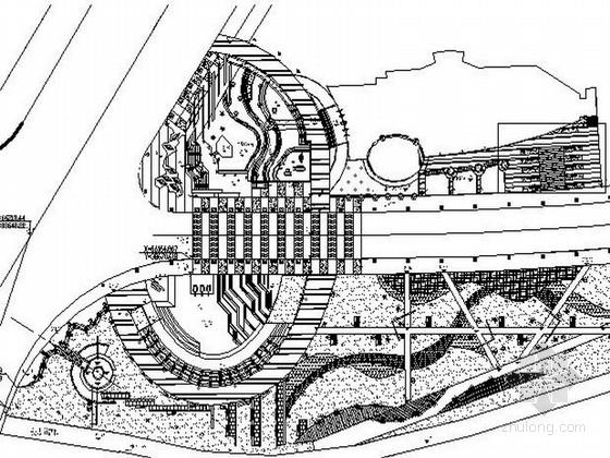 某地高档会所附属广场景观设计施工图