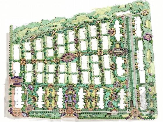 [江苏]独具风情私家庭院景观规划设计方案