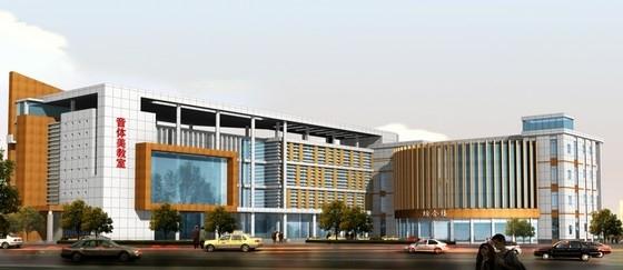 [山东]36班新中式风格小学校园规划设计方案文本