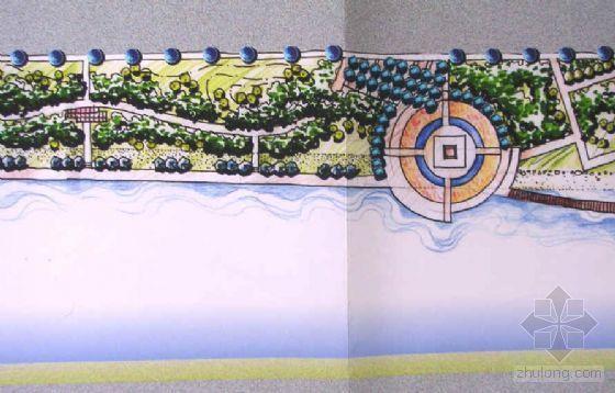 江苏大丰某河滨绿地景观设计方案