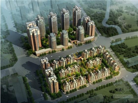 [四川]artdeco风格住宅小区规划设计文本(含CAD 知名设计院)