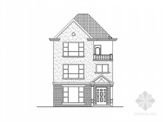 三层250平方米别墅建筑施工图(含结构、电气、给排水图 推荐下载)