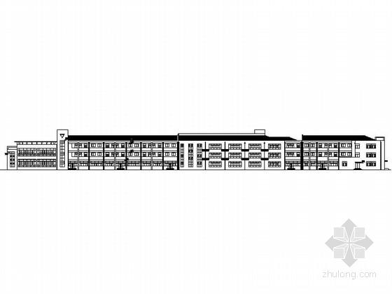 21班三层新中式幼儿园建筑施工图