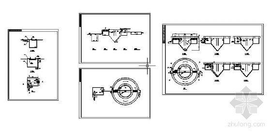 uasb厌氧反应器工艺图资料下载-某一体式氧化沟工艺图