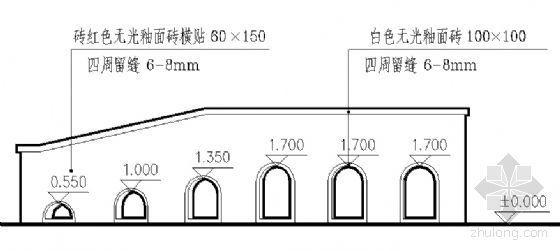 看台建筑结构详图-2