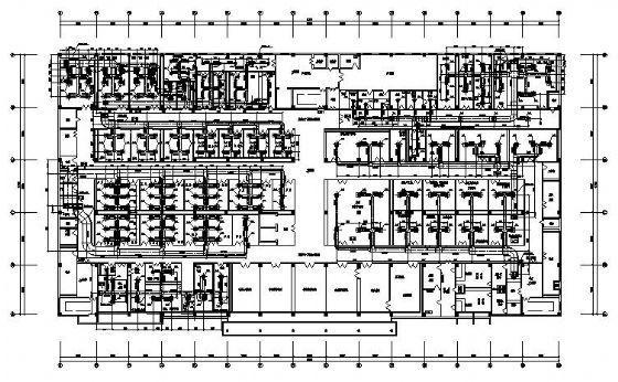 西南某药业公司片剂车间GMP技术改造项目净化空调设计图