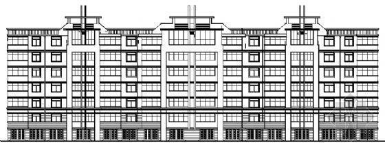 七层复式住宅建筑方案