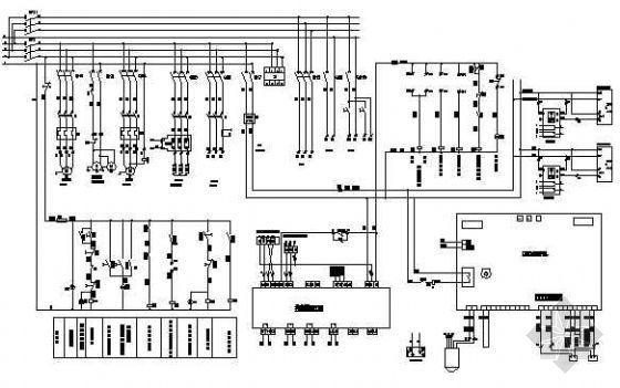 恒温恒湿空调机组控制原理图