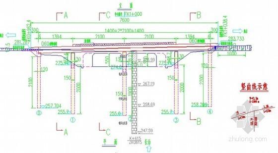 二级公路现浇预应力混凝土箱梁全套设计图纸