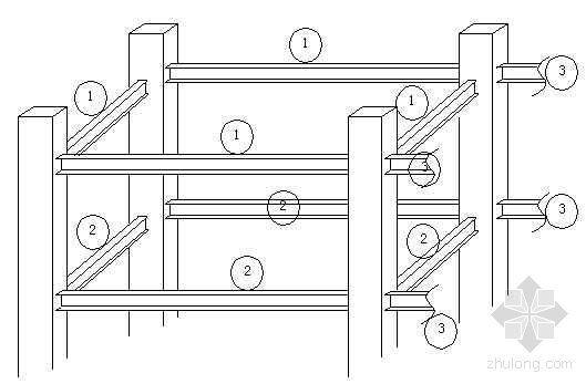 楼层组合螺栓拧紧顺序图