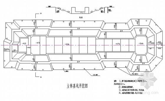 船闸深基坑工程施工专项方案