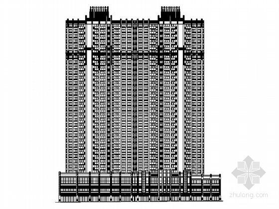 [四川]知名购物广场规划及商业综合体建筑施工图(含效果图 知名建筑设计院)