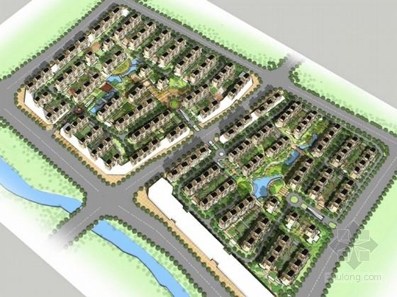 安置区住宅文本资料下载-[浙江]现代风格多层安置住宅区规划设计方案文本(两个方案)
