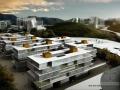 [深圳]巨环布局生态化现代风格综合性高等院校建筑设计方案文本