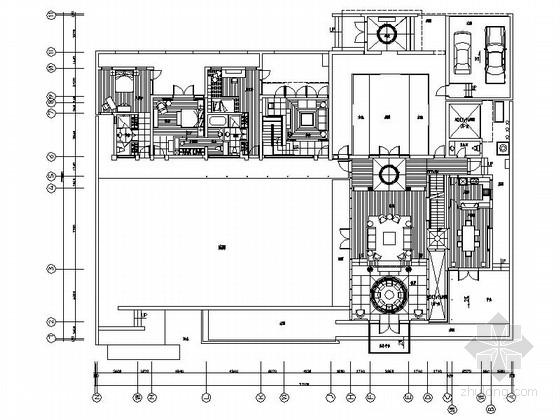 [上海]浦东新区现代双层别墅装修图