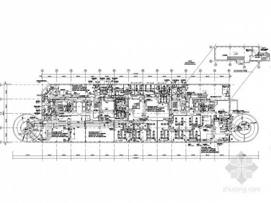 [北京]高层综合建筑空调通风及防排烟系统设计施工图(采暖设计 人防设计)