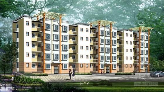[山西]3层砖混住宅楼土建装饰工程商务投标书(含工程量计算 53页)