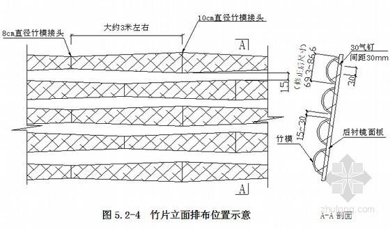 竹席纹装饰混凝土天棚墙面施工工法
