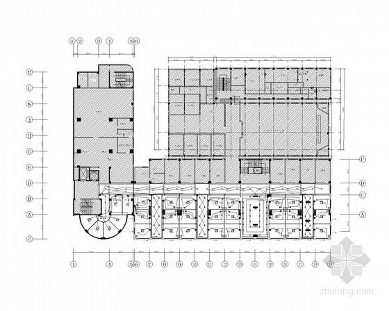 医院建筑群施工图设计资料下载-[江苏]高层医院强弱电全套施工图纸