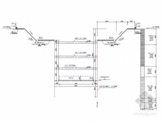 iv型钢板桩施工方案资料下载-[山东]10米深基坑拉森钢板桩加钢支撑支护设计计算书(2014年编制)