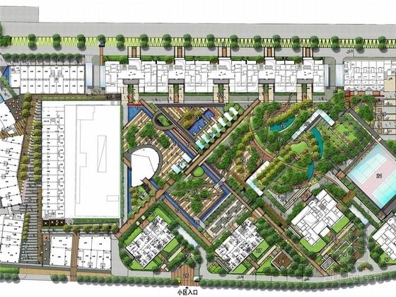 [北京]花园式现代时尚诗意庭院景观概念规划设计方案