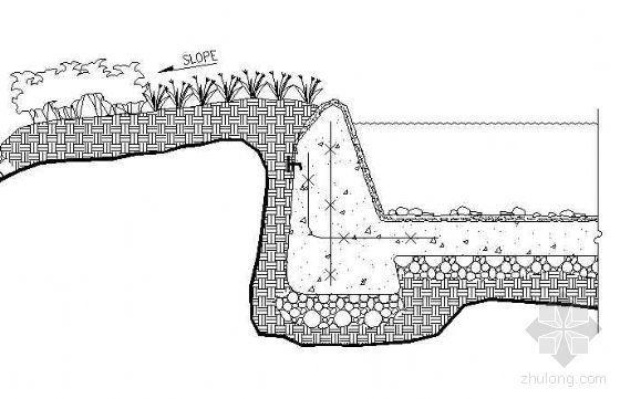 标准无边池塘详图