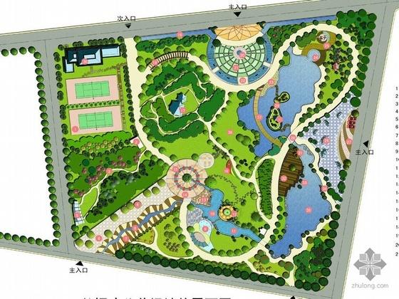 上海某公共绿地景观规划设计