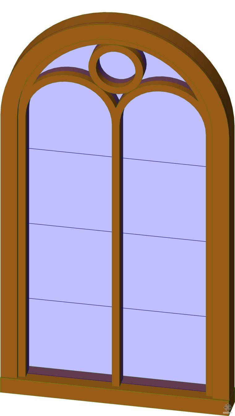 弧形欧式窗