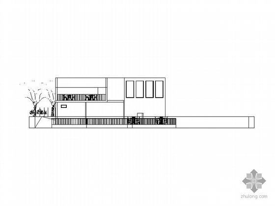 [课程设计]某休闲场所方案CAD图、渲染图
