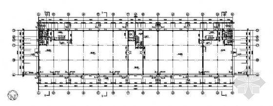 上海某厂区厂房给排水消防设计图