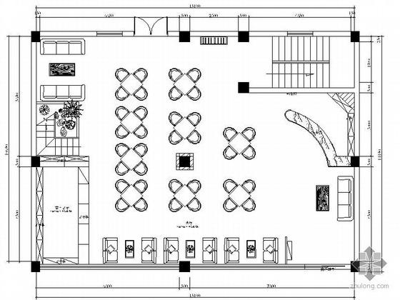 天和茶楼设计方案图(含效果)
